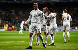 Giúp Real ngược dòng, Ronaldo viết tiếp lịch sử Champions League