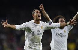 """Real Madrid 3-0 Wolfsburg (Tổng tỷ số 3-2): """"Quái vật"""" Ronaldo nổi giận!"""