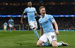 Man City thống trị top kiến tạo tại Ngoại hạng Anh