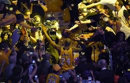 Huyền thoại Kobe Bryant khép lại sự nghiệp trong vinh quang