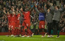 """Ngược dòng lịch sử, Liverpool """"điên rồ"""" vào bán kết Europa League"""