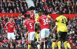Man Utd 1-0 Aston Villa: Tạm biệt một tượng đài!