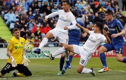 Getafe 1-5 Real Madrid: Phả hơi nóng vào gáy Barcelona