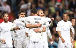 Real Madrid 3-0 Villarreal: Thắng to mà lo Ronaldo chấn thương