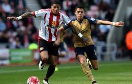 Sunderland 0-0 Arsenal: Pháo thủ chôn chân ở vị trí thứ 4