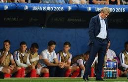 CHÍNH THỨC: HLV Roy Hodgson chia tay tuyển Anh sau trận thua sốc tại EURO 2016