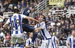 """Real Sociedad 0-1 Real Madrid: """"Hỏa tiễn"""" Gareth Bale đưa Kền kền lên đỉnh"""