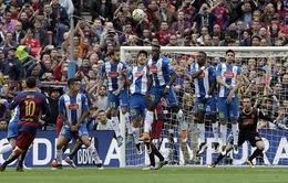Barcelona 5-0 Espanyol: Tam tấu MSN hủy diệt derby Catalan