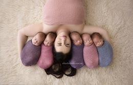 Bà mẹ sinh năm chụp ảnh cực yêu bên các con