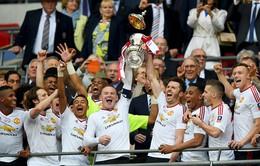 Sao trẻ Lingard tỏa sáng, Man Utd chật vật giành ngai vàng FA Cup