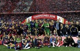 Barcelona công bố doanh thu kỉ lục cho mùa 2015/16