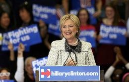 Bà Hillary Clinton chiến thắng sau vòng bầu cử ở Nam Carolina