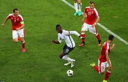 """Pháp hòa nhạt, Pogba vẫn được """"tâng lên mây"""""""