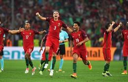 VIDEO EURO 2016: Loạt đá penalty kịch tính giữa Bồ Đào Nha 5-3 Ba Lan