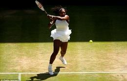 Wimbledon 2016: Serena Williams lần thứ 9 vào chung kết sau chiến thắng 'hủy diệt'!