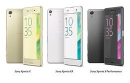 Sony ra mắt dòng smartphone mới Xperia X tại MWC 2016