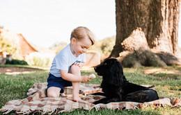 Ngất ngây với những bức ảnh mới của tiểu hoàng tử nước Anh