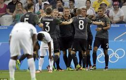 ĐT Olympic Đức vượt qua Olympic Nigeria, gặp Olympic Brazil trong trận chung kết