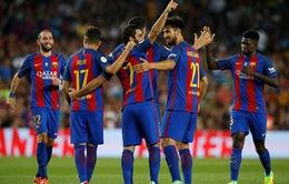 Đánh bại Sevilla, Messi và Barca giành Siêu cúp Tây Ban Nha thuyết phục