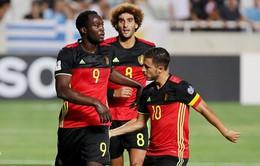 VIDEO, Đảo Síp 0-3 Bỉ: Lukaku tỏa sáng, HLV Martinez có chiến thắng đầu tay