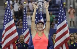 Đánh bại Pliskova, Angelique Kerber lần đầu vô địch US Open