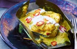 Cá hấp amok - Tinh túy của ẩm thực Campuchia