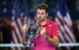 Vượt qua Djokovic, Wawrinka lần đầu tiên vô địch US Open 2016