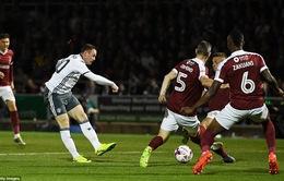 VIDEO, Northampton 1-3 Man Utd: Giải tỏa áp lực