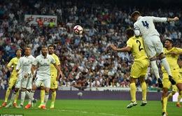 VIDEO, Real Madrid 1-1 Villarreal: Ramos lập công chuộc tội!