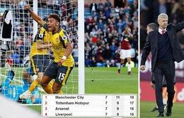 VIDEO, Burnley 0-1 Arsenal: Bàn thắng tranh cãi ở giây cuối cùng