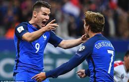 VIDEO, Pháp 4-1 Bulgaria: Đối tác mới của Griezmann