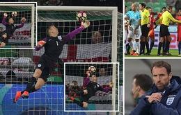 VIDEO, Slovenia 0-0 Anh: Joe Hart xuất thần, Tam Sự thoát hiểm