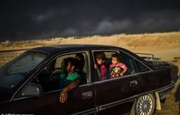 """IS đốt nhà máy lưu huỳnh, người dân Iraq """"gặp họa"""""""