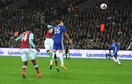 VIDEO, West Ham 2-1 Chelsea: Khác biệt ở quyết tâm