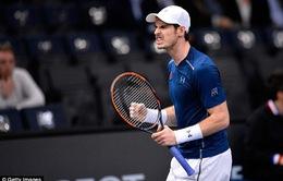 Andy Murray tiến vào tứ kết giải quần vợt Paris Masters