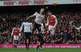 Những con số ấn tượng sau trận hòa của trận derby Bắc London, Arsenal 1-1 Tottenham