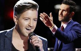 """""""Thiên thần"""" Billy Gilman bất đồng ý kiến với Adam Levine trước CK The Voice Mỹ"""