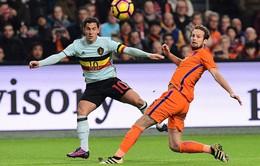 VIDEO, ĐT Hà Lan 1-1 ĐT Bỉ: Thử nghiệm bất thành