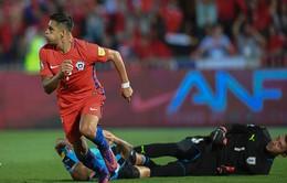 VIDEO, Chile 3-1 Uruguay: Sanchez lập cú đúp, Suarez sút hỏng phạt đền