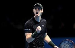 VIDEO: Murray thắng kịch tính trong trận đấu dài nhất lịch sử ATP World Tour Finals