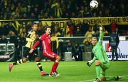 VIDEO: Aubameyang lập công, Dortmund hạ Bayern, RB Leipzig lên ngôi đầu