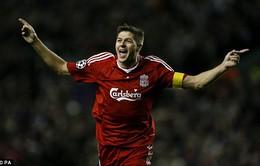 """Những con số """"biết nói"""" về sự nghiệp huy hoàng của Steven Gerrard"""