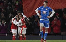 Arsenal 3-1 Bournemouth: May mắn + Bản lĩnh = Chiến thắng