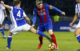 Real Sociedad 1 - 1 Barcelona: Chia điểm nhọc nhằn