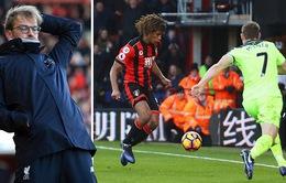 Ghi 3 bàn trong 15 phút cuối trận, Bournemouth ngược dòng ngoạn mục trước Liverpool