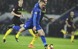Vardy lập hat-trick, Man City thảm bại trước nhà ĐKVĐ Leicester City