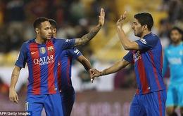 "Al Ahli 3 - 5 Barcelona: Ấn tượng ""tam tấu"" Messi - Neymar - Suarez"
