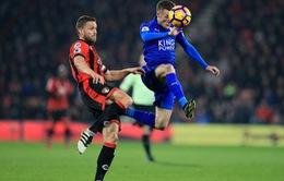 Bournemouth 1 - 0 Leicester City: Thất vọng nhà ĐKVĐ