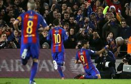 Barcelona 4-1 Espanyol: Derby một chiều, Barca giành chiến thắng thuyết phục
