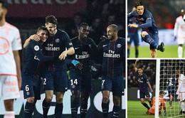 PSG 5-0 Lorient: Thắng ấn tượng, PSG thu hẹp khoảng cách với đội đầu bảng Nice